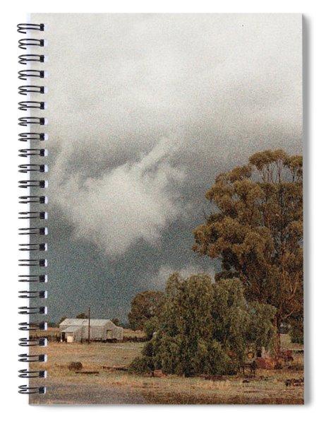 Kerula Storm  Spiral Notebook