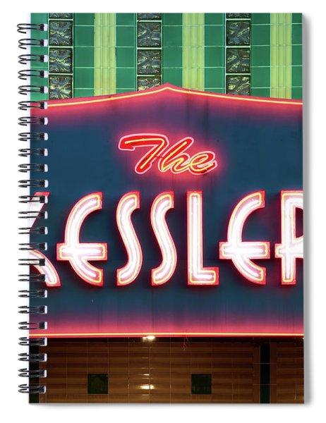 Kessler Theater 042817 Spiral Notebook