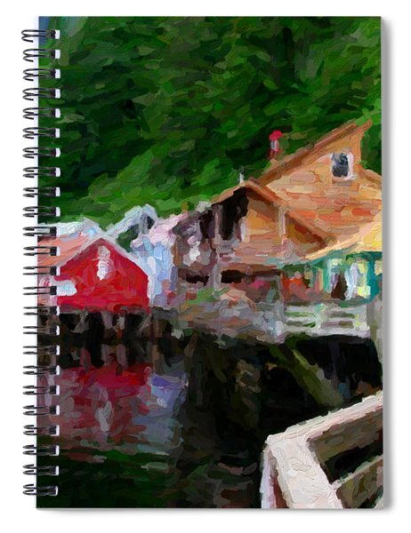 Ketchikan Alaska Spiral Notebook
