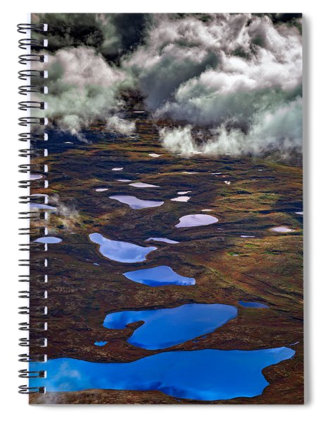 Kettle Ponds On The Tundra Spiral Notebook