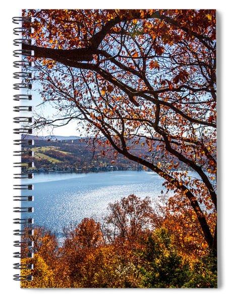 Keuka Lake Vista Spiral Notebook
