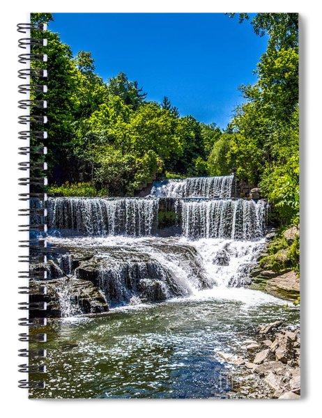 Keuka Outlet Waterfall Spiral Notebook