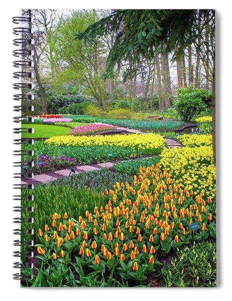 Keukehof Botanic Garden 2015 Spiral Notebook