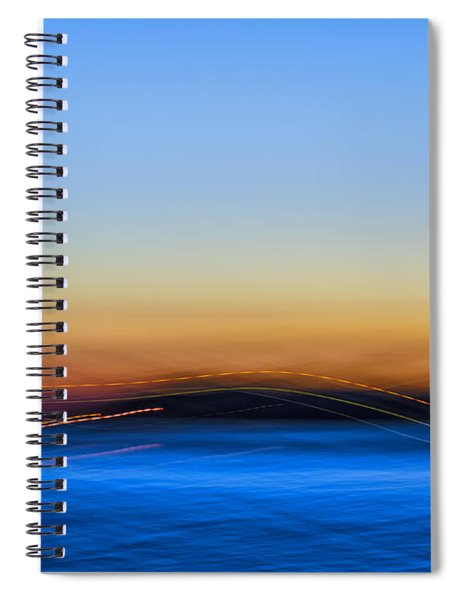 Key West Abstract Spiral Notebook