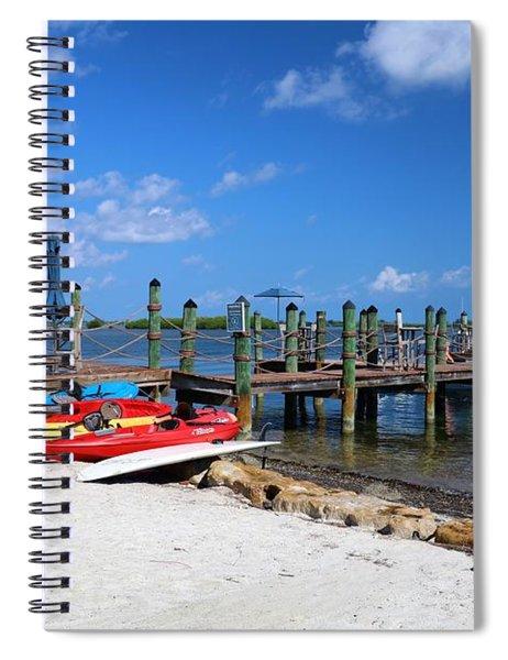 Key West Spiral Notebook