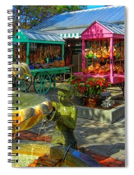 Key West Mallory Square Spiral Notebook