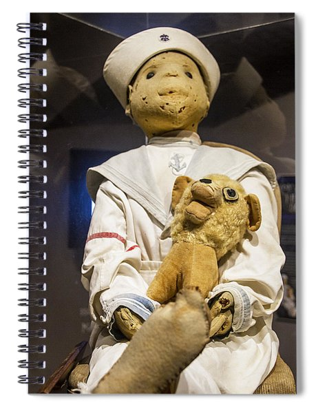 Key Wests Robert The Doll Spiral Notebook