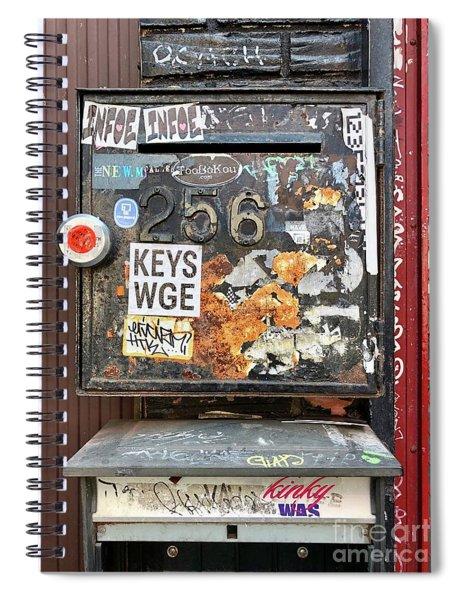 Keys Wge 256 Spiral Notebook