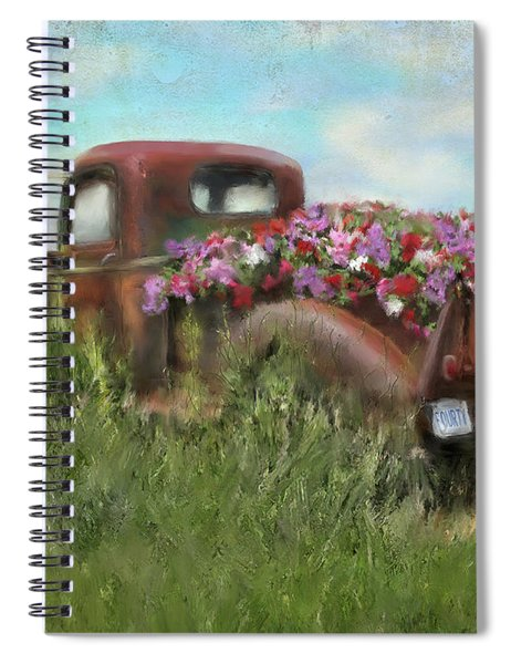 Kicks On Route 66 Spiral Notebook