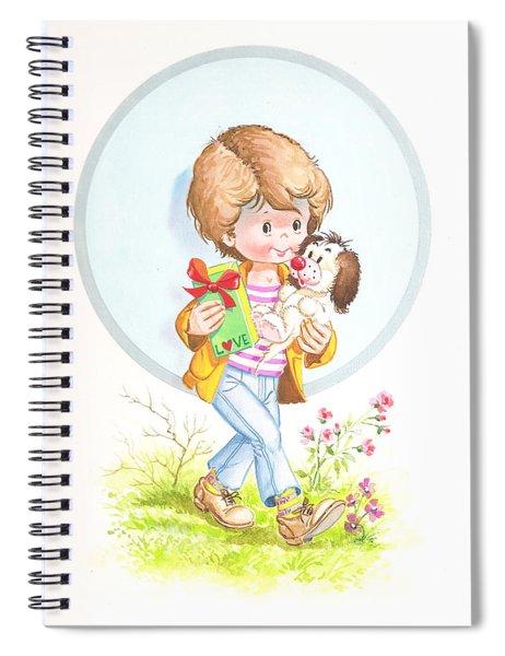 My Love As A Present Spiral Notebook
