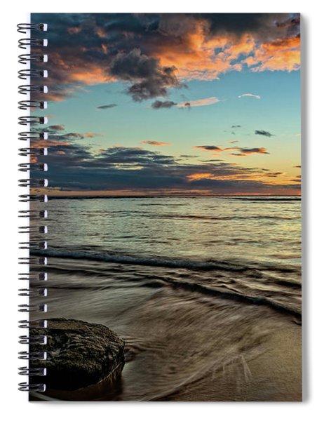 Kihei, Maui Sunset Spiral Notebook