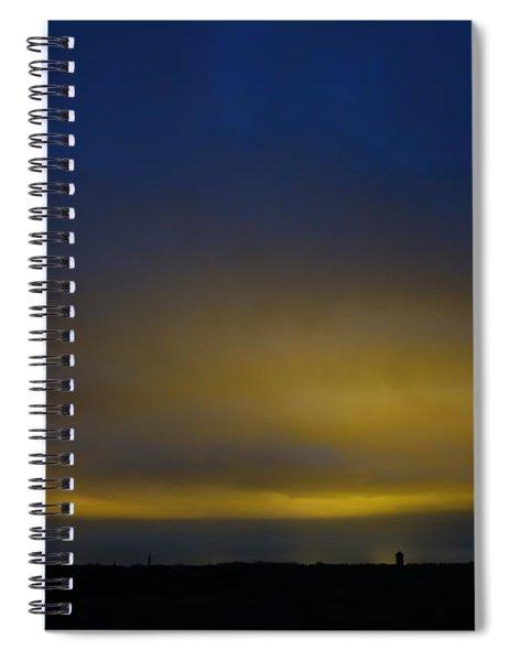 Kijkduin Sunset Spiral Notebook