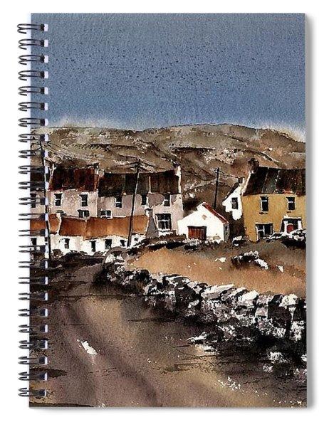 Kilmurvey Inishmore Aran Spiral Notebook