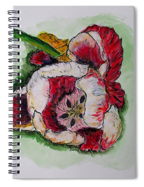 Kimberly's Flowers Spiral Notebook