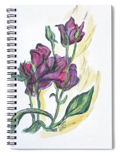 Kimberly's Spring Flower Spiral Notebook