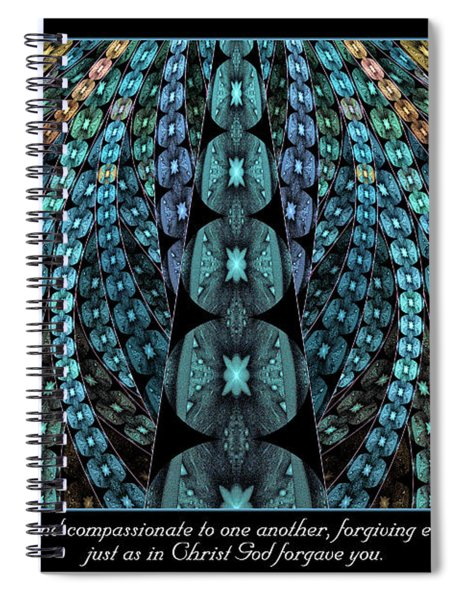 Kind And Compassionate Spiral Notebook