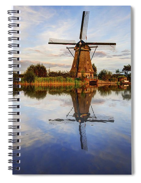 Kinderdijk Spiral Notebook