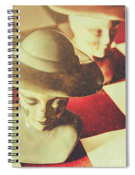King And Queen Power Play Strategy Spiral Notebook