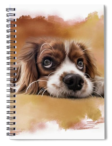 King Charles Cavalier Spiral Notebook