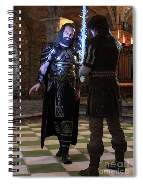 King Edward Spiral Notebook