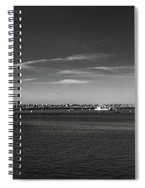 King Harbor By Mike-hope Spiral Notebook
