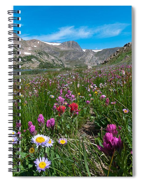 King Lake Summer Landscape Spiral Notebook