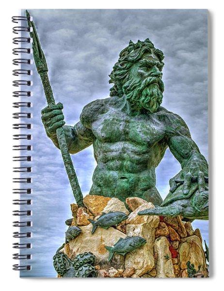 King Neptune Spiral Notebook