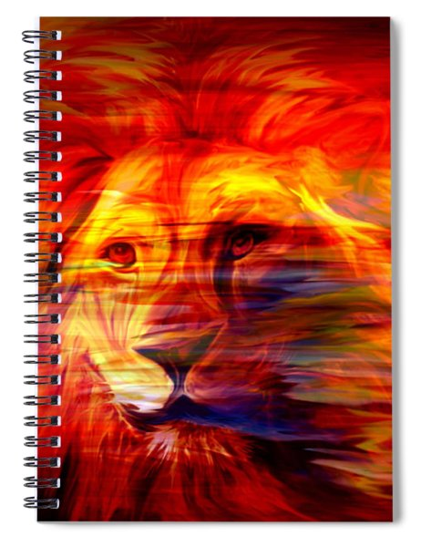 King Of Glory Spiral Notebook