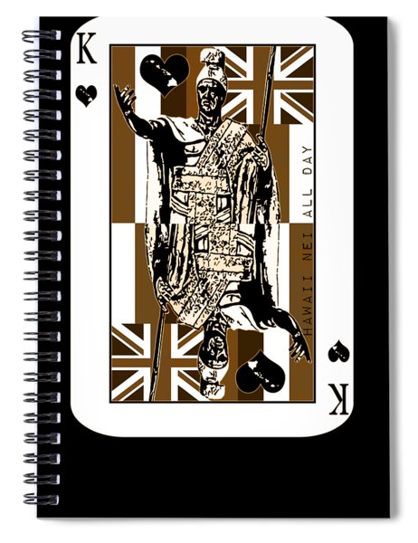 King Of Hawai'i Kamehameha By Hawaii Nei All Day Spiral Notebook