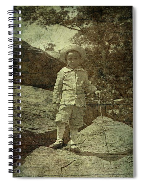 King Of The Mountaintop Spiral Notebook