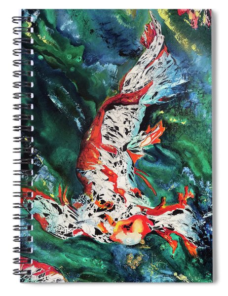 King Of The Pond Spiral Notebook