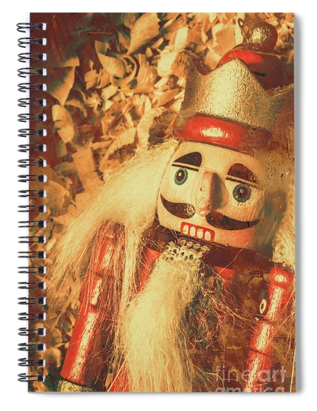 King Of The Toy Cabinet Spiral Notebook