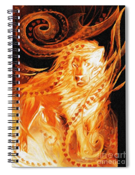 King Spiral Notebook