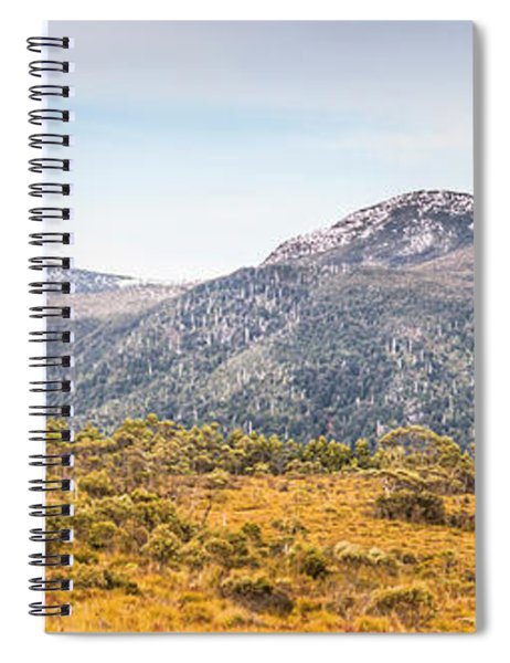 King William Range. Australia Mountain Panorama Spiral Notebook