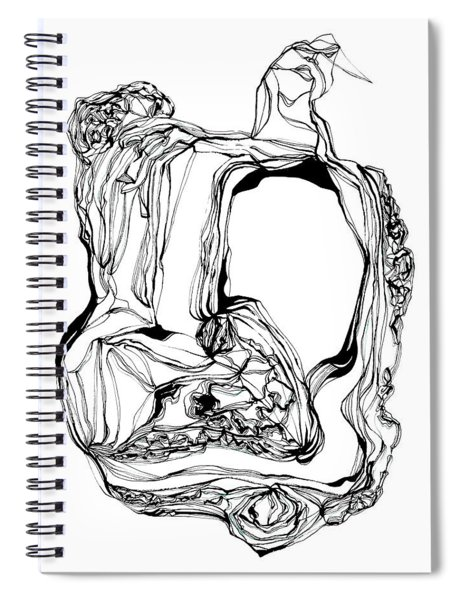 King With Cat Spiral Notebook