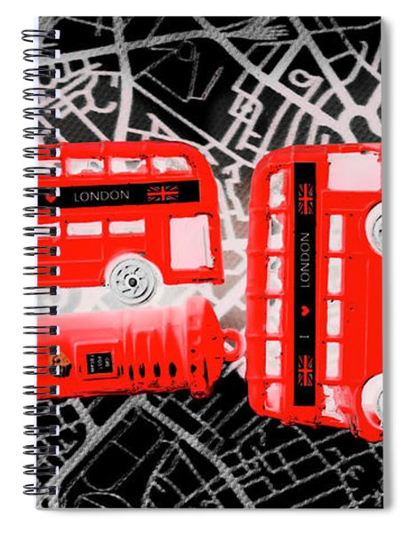 Kingdom Of United Touring Charms  Spiral Notebook