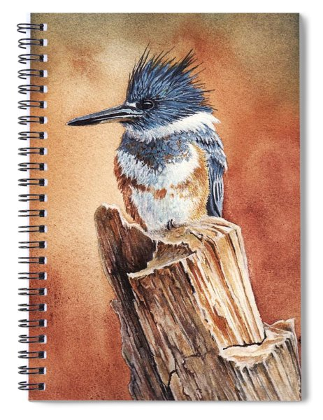 Kingfisher I Spiral Notebook