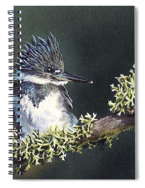 Kingfisher II Spiral Notebook