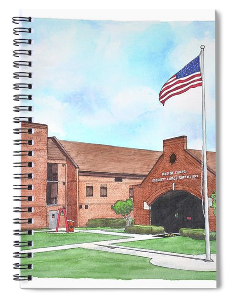 Kings Bay Marine Corps Security Force Battalion Spiral Notebook