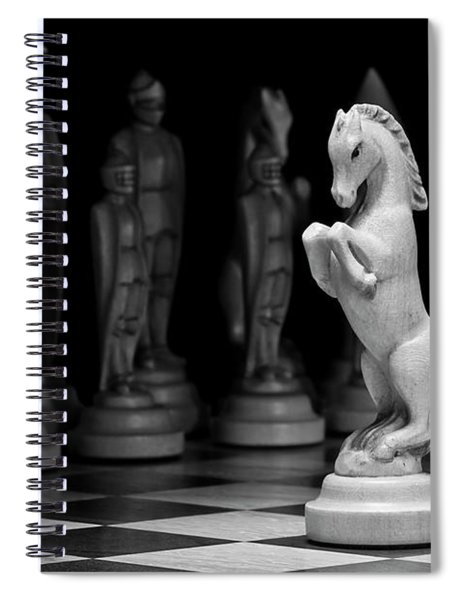 King's Court - The Valiant Knight Spiral Notebook