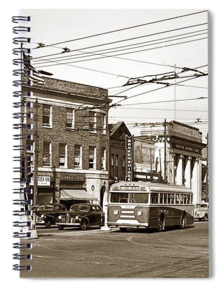 Kingston Corners Kingston Pa Early 1950s Spiral Notebook