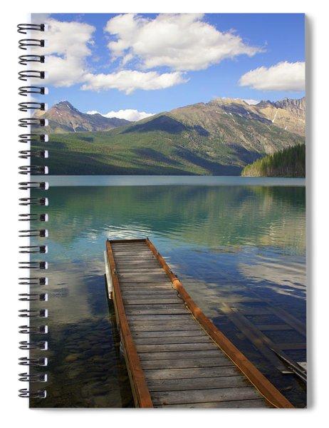 Kintla Lake Dock Spiral Notebook