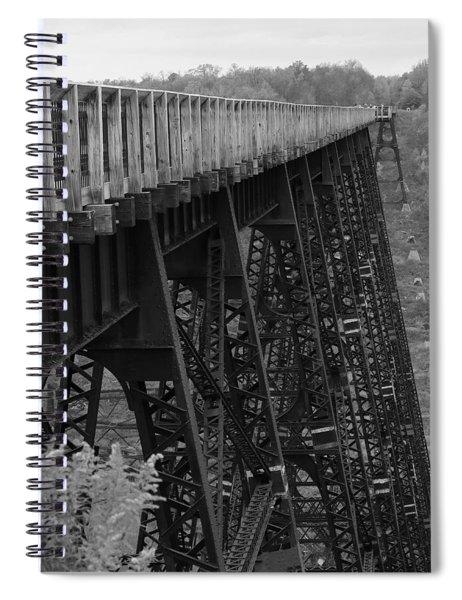 Kinzua Skywalk Spiral Notebook