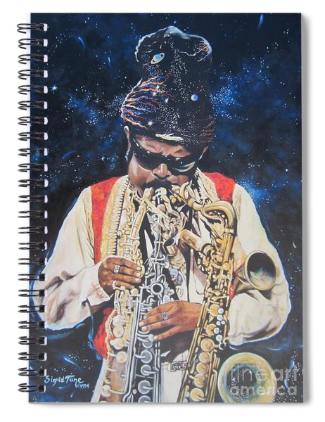 American History. .  Rahsaan  Roland Kirk  Spiral Notebook