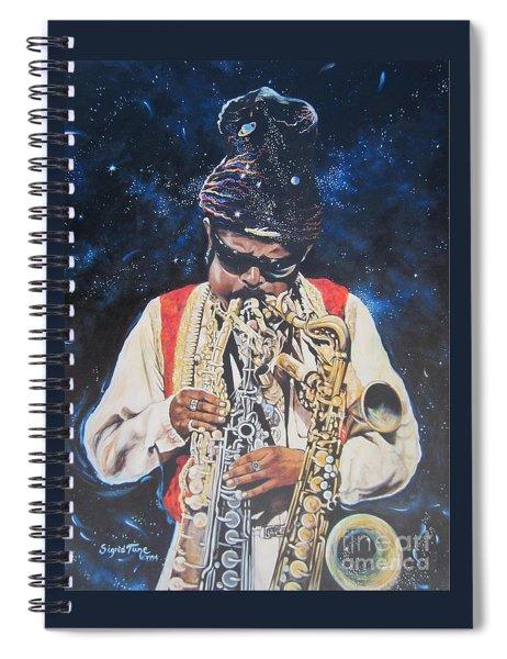 American History. .  Rahsaan  Roland Kirk  Spiral Notebook