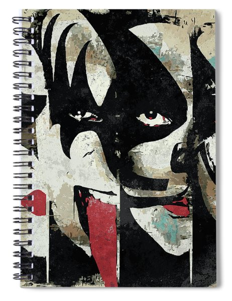 Kiss Art Print Spiral Notebook