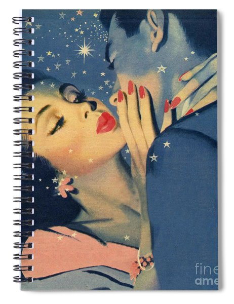 Kiss Goodnight Spiral Notebook
