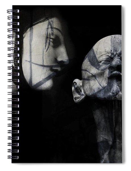 Kiss Me , Honey , Honey , Kiss Me Spiral Notebook