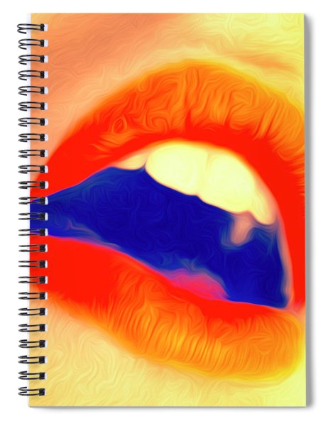 Kiss Me- Spiral Notebook