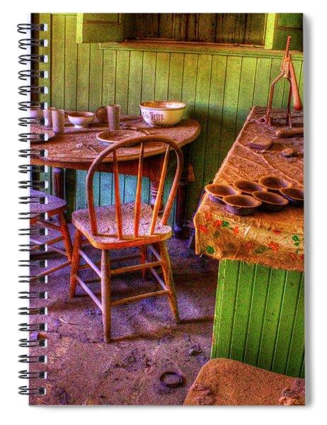Kitchen Table Bodie California Spiral Notebook